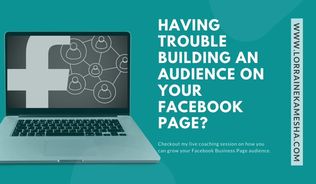 Having Trouble Building an Audience on your Facebook Page?